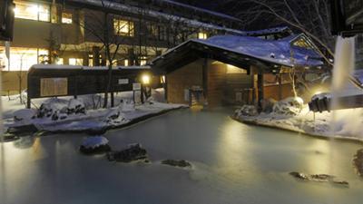 冬の泡の湯はもっとも美しい