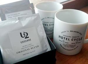 ONOMICHI U2オリジナルコーヒーと紅茶