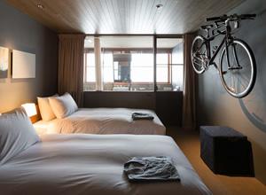 自転車は、全室持ち込み可能。