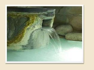 グリーンパール那須の美肌のにごり湯
