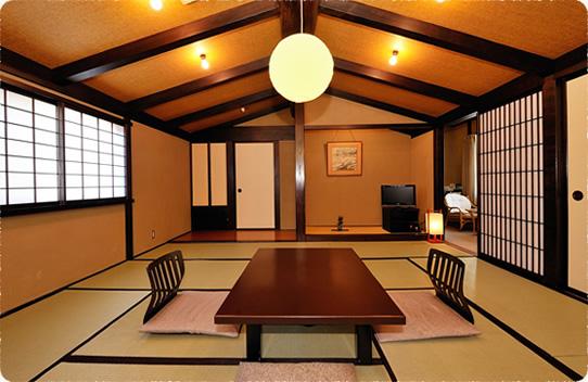 新館 12畳半和室 「山家御殿」