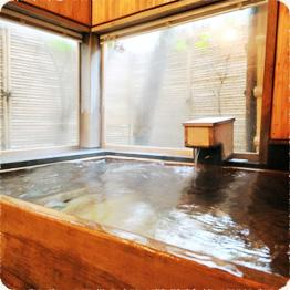 五 檜貸切風呂「つかまの湯」 貸切風呂