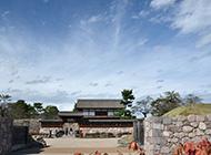 海津城・宝物館と文武学校
