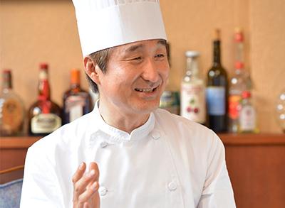 「ラピスラズリ」料理長
