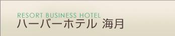 淡路島 洲本温泉 ハーバーホテル海月
