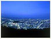 眉山山頂の夜景