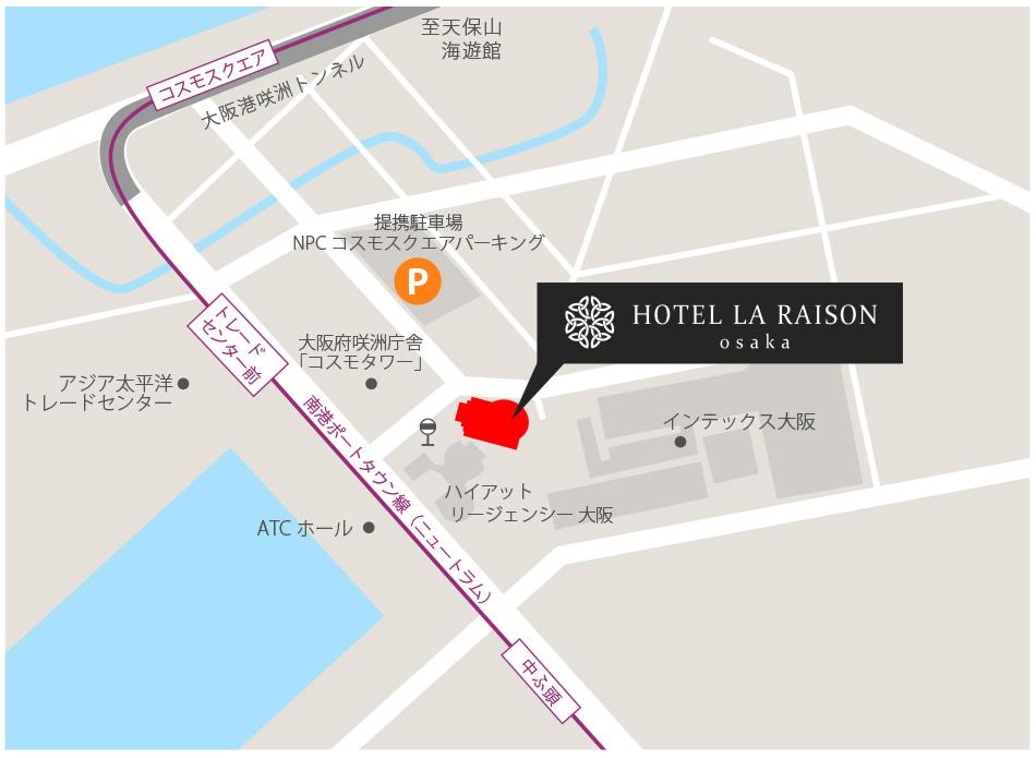 ホテル ラ・レゾン ホテルマップ