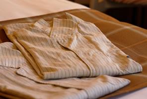 グンゼ社との共同制作による肌触りの良いオリジナルパジャマ(ワンピースタイプ)