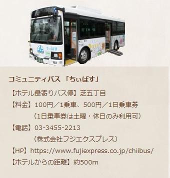コミュニティバス「ちぃばす」