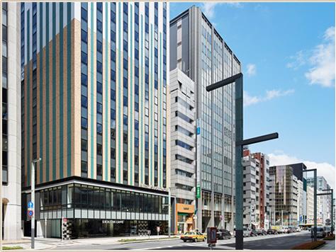 主要エリアから便利なJR「東京」駅八重洲中央口より徒歩約5分。