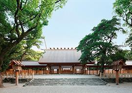 空中庭園展望台 熱田神宮