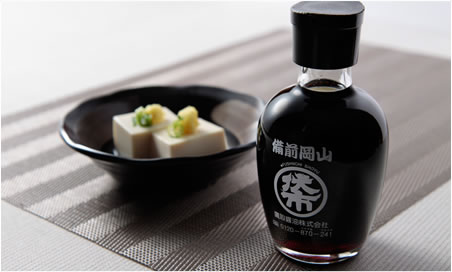 岡山名産、備前市鷹取醤油製造の「伏市醤油」