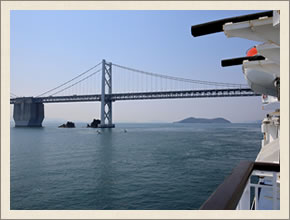 瀬戸大橋 周遊観光船