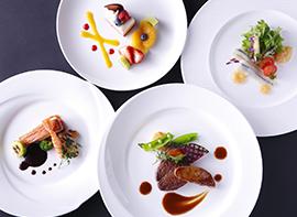 【夕朝食付】フレンチディナーを愉しむハイカラ旅〜Dinner&Stay〜