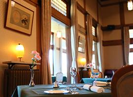 【おかえりメインダイニングルーム】寛雅なるフレンチを味わう〜Dinner&Stay〜