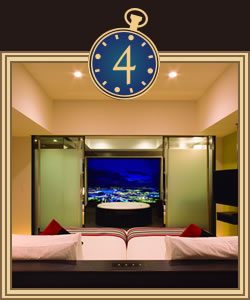 お部屋は様々なタイプをご用意。