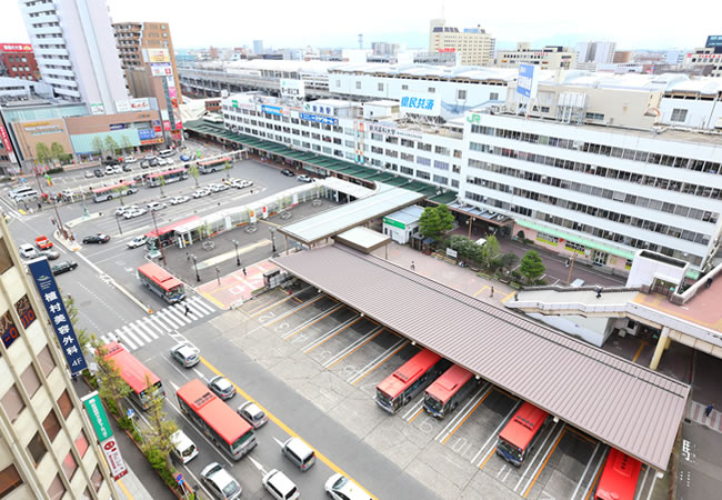 新幹線「新潟駅」徒歩1分 ようこそ安心とくつろぎのいつもの場所に。