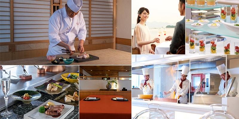 白浜古賀の井リゾート&スパの料理