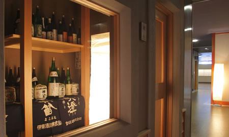 地元・酒蔵から美酒を集めた酒蔵