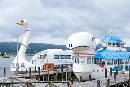 諏訪湖観光汽船