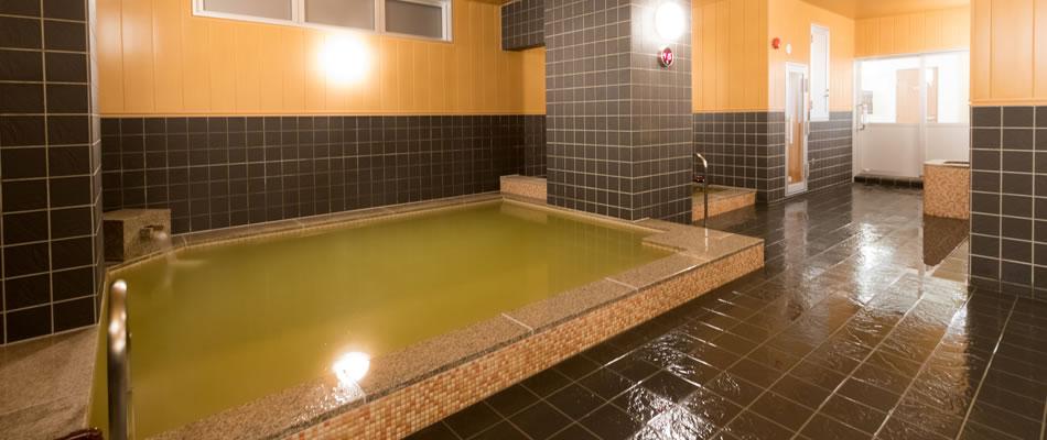 100%源泉掛け流し天然温泉「黄玉の湯」