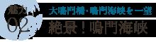 魅力02 大鳴門橋・鳴門海峡を一望 絶景!鳴門海峡