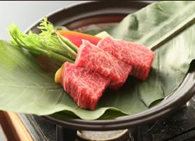 信州牛フィレ肉朴葉焼