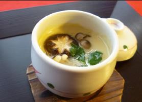 信州きのこたっぷり茶碗蒸し